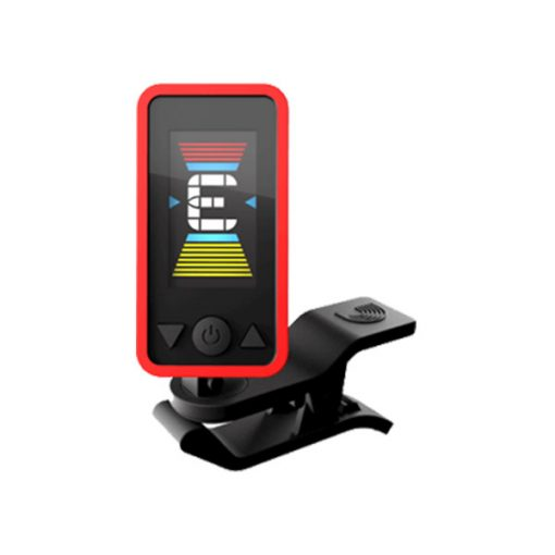 D'Addario Eclipse Headstock Tuner (Red)