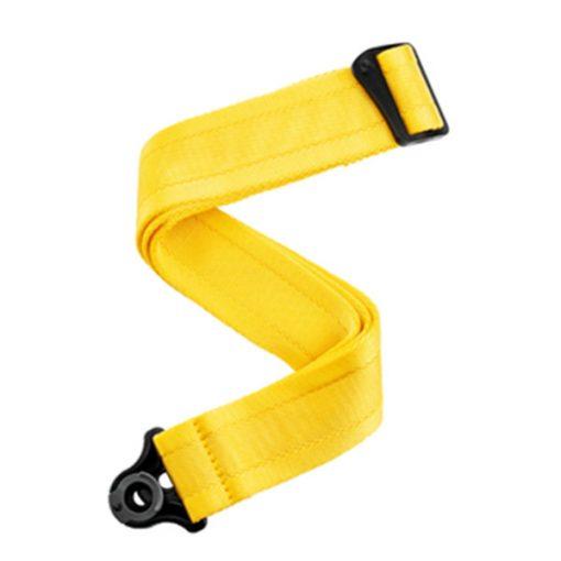 D'Addario Auto Lock Guitar Strap (Mellow Yellow)