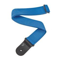 D'Addario Polypropylene Guitar Strap (Blue)