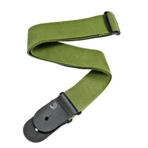 D'Addario Polypropylene Guitar Strap (Green)