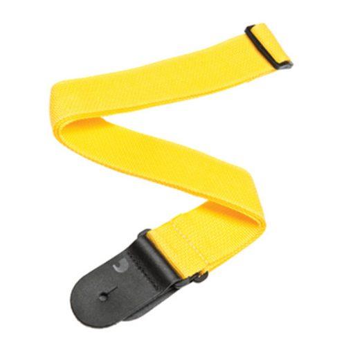 D'Addario Polypropylene Guitar Strap (Yellow)